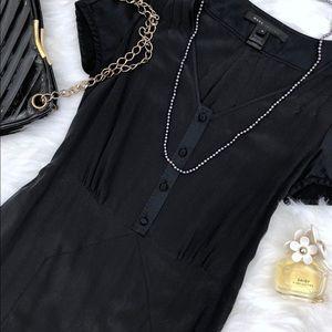 Marc Jacobs Silk Black Dress